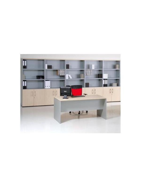 Mesa de oficina basic 120*80*74 cm. - Mesa de oficina línea basic -120 cm. de larga x 80 cm. de fondo x 74 de altura -canteada en pvc anti-golpes