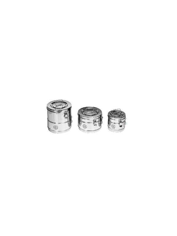 Bombonas para esterilización - Peldaño de acceso a camilla un tramo Con tabla de poliuretano inyectado antideslizante Estructura Acero esmaltado, cromado ó Inox