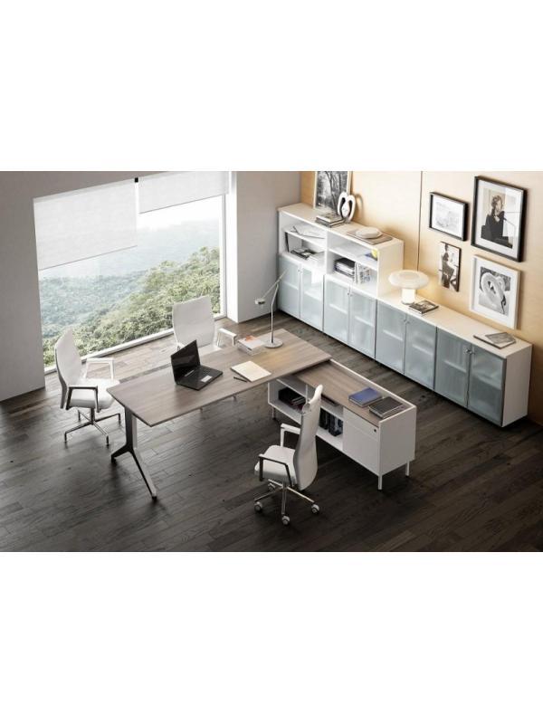 Composición nº 2 de la serie BC - Composición de muebles de la serie Barcelona, ejemplo de distribución de esta nueva serie de mobiliario, mientras introducimos todos los detalles, por favor solicite mas información por teléfono o mail.