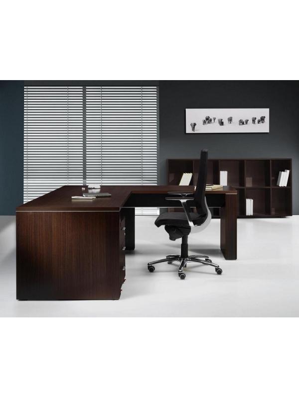 Mesa de despacho de 160*80*74 - Mesa recta para despacho de dirección de 160 ancho x 80 de fondo x 74 de alto. Madera melamínica anti-rayaduras.
