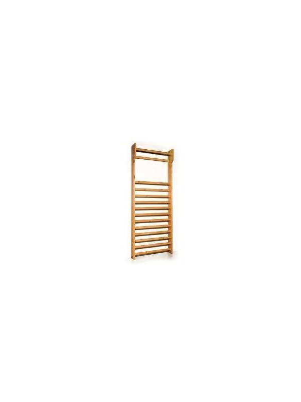 Espaldera - Espaldera. Fabricada en madera de haya natural barnizada. Catorce barras transversales-
