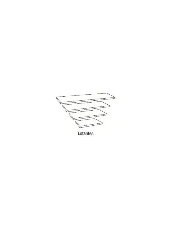 Estante - Estante. Medida 120cm de largo