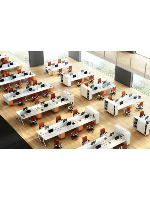 Composición nº 6 de la serie Barcelona - Composición de muebles de la serie Barcelona, ejemplo de distribución de esta nueva serie de mobiliario, mientras introducimos todos los detalles, por favor solicite mas información por teléfono o mail.
