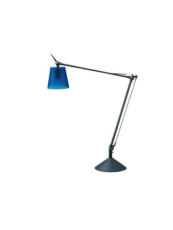 Lámpara incandescentes - Lámpara 400 x 410 x 115 mm (fondo x ancho x alto) Características:Colores transparentes Largo brazo y estable base metálica.  Pivotable 360º y ajustable en ángulo