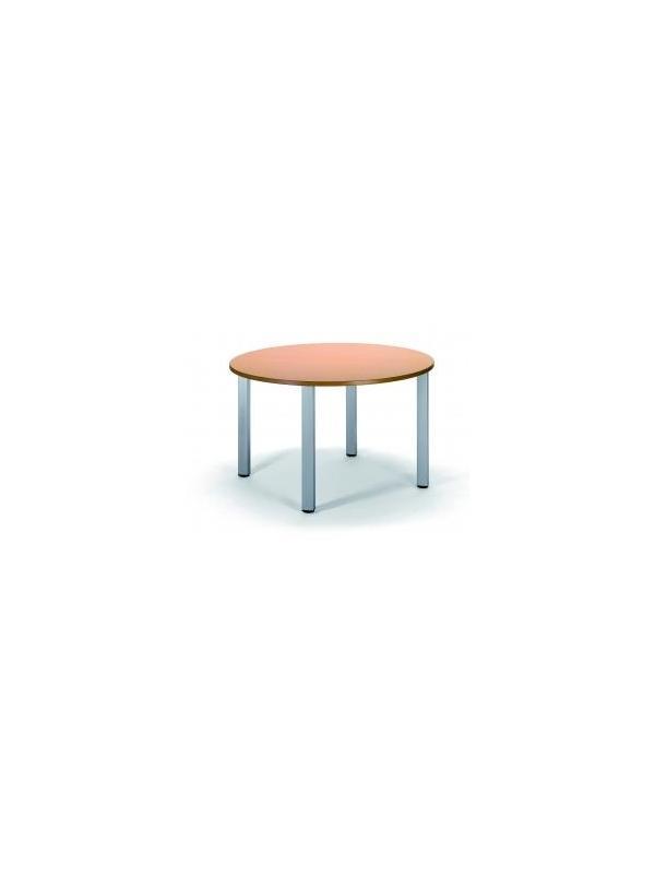 Mesa - Mesa 4 patas de tubo de acero cuadrado. Tapa en estratificado. Diversas medidas.