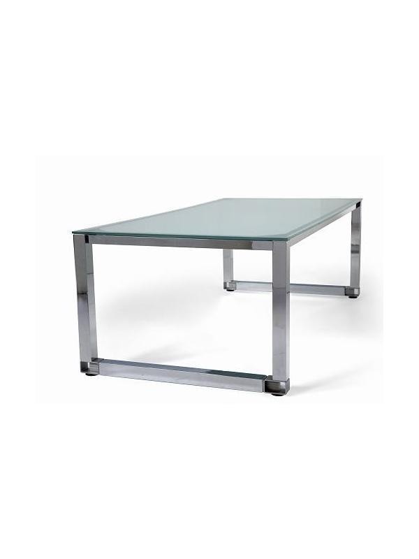 Mesas de oficina enfrentas 2 puestos de trabajo muebles for Mesa cristal oficina