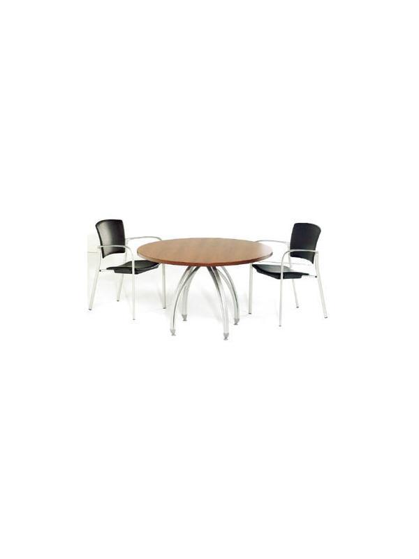 Mesa redonda de juntas 120*74 - Mesa redonda de juntas de 120cm de diámetro x 74cm de alto.