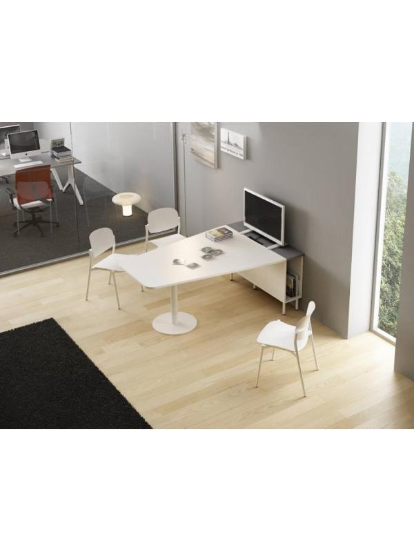 Composición nº 12 de la serie Barcelona - Composición de muebles de la serie Barcelona, ejemplo de distribución de esta nueva serie de mobiliario, mientras introducimos todos los detalles, por favor solicite mas información por teléfono o mail.