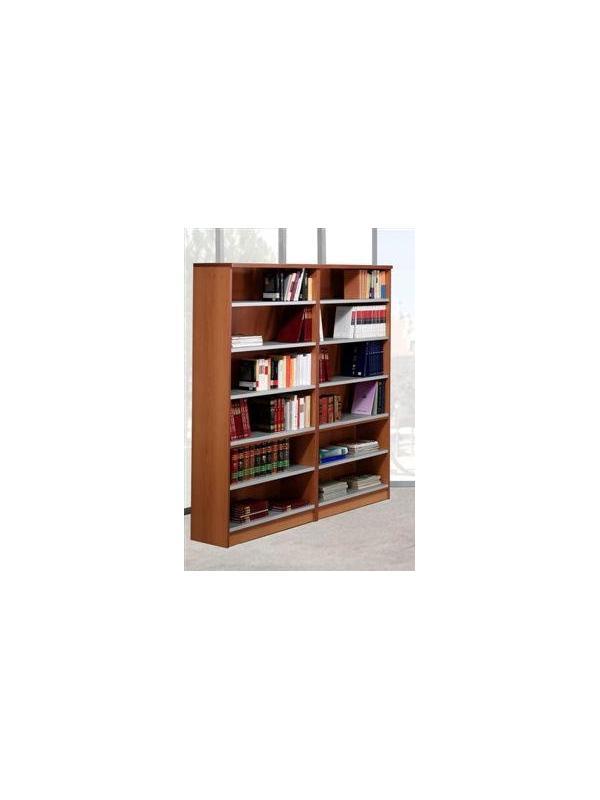 Estantería de biblioteca - Mueble de biblioteca Medidas: 208 alto x 92 ancho x 32 fondo