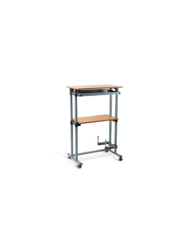 Puesto informático - Superficie: 78x45  Altura: 122 cm  Carga máxima: 50 kg