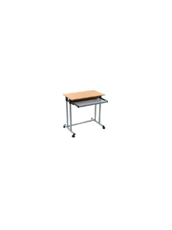 Mesa informatica - La sencillez del diseño y la calidad de los materiales caracterizan estas mesas de ordenador, fáciles de combinar con nuestros accesorios. Acabado metálico.