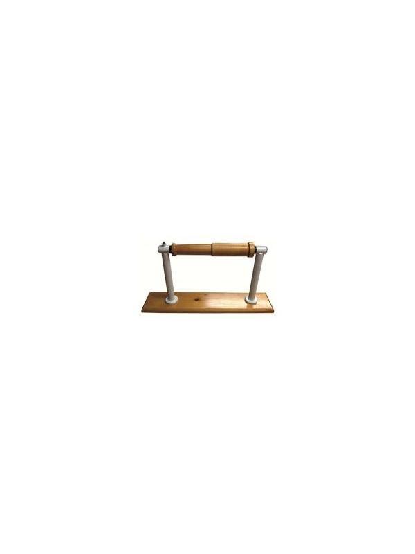 Flexo extensor de muñeca - Flexo extensor de muñeca. Fabricado en madera de haya barnizada natural y Acero esmaltado epoxi. Graduable en intensidad mediante freno de presión.