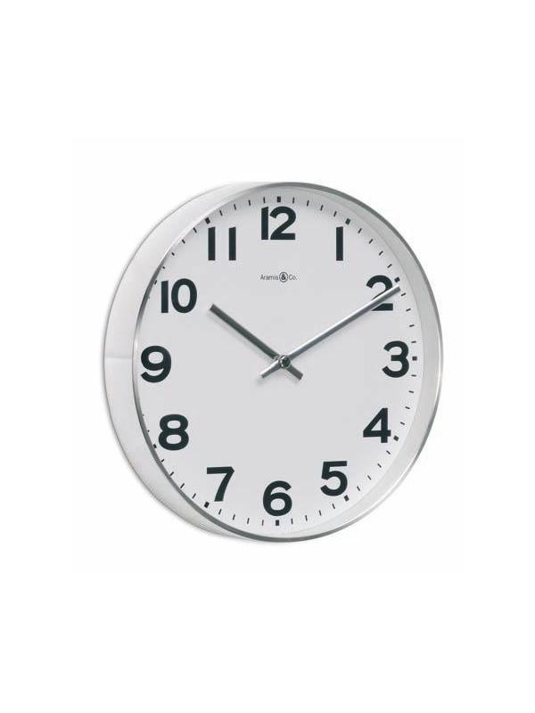 Reloj de pared para oficinas o empresas - Reloj de pared de 25 o 30 cm. de diámetro.  Colección de relojes fabricados en plástico y metal de alta calidad. Disponibles en varios tamaños, colores y diferentes acabados. Ideales para oficinas, colectividades y ambientes comunes.