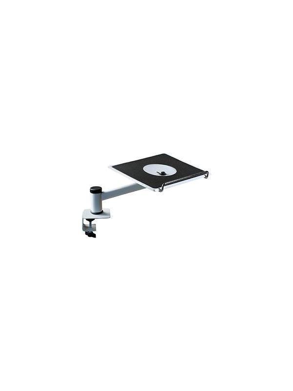 Brazo soporte monitor - Brazo soporte monitor para cualquier mesa de madera diferente muy adaptable, versátil, flexible en su montaje
