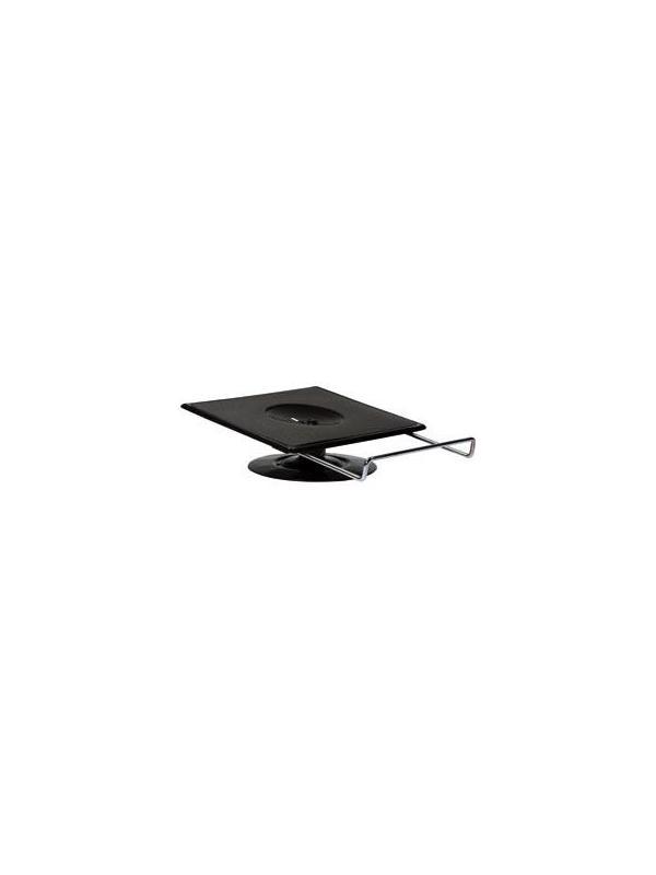 Soporte monitor giratorio sobremesa - Soporte monitor giratorio sobremesa. Representa la simplicidad y la síntesis de un diseño del espacio práctico y eficaz