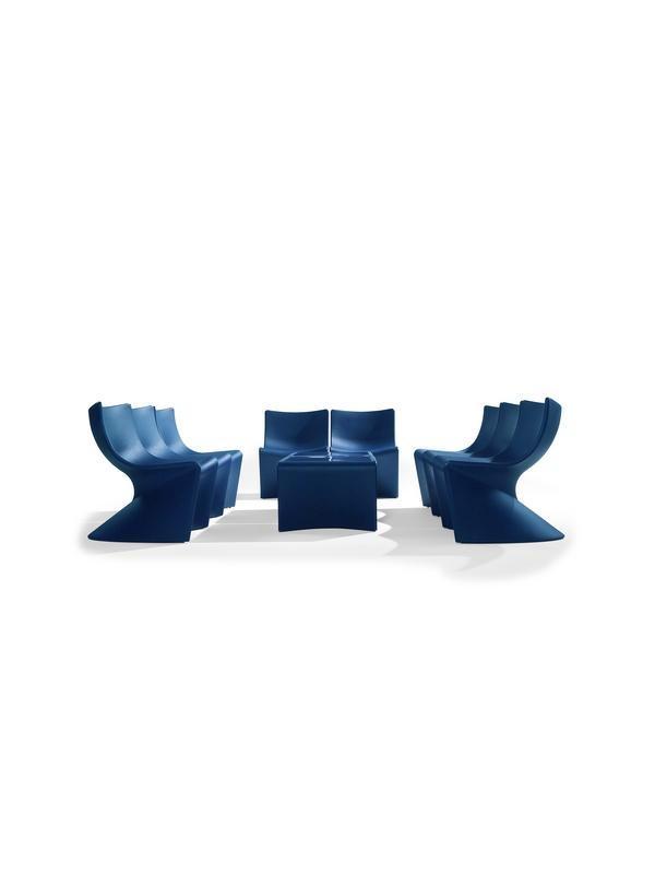 Sala de espera - Sala de espera -Módulo para salas de espera/recepciones - Monocarcasa de polipropileno , opción galleta tapizada ,tanto asiento como respaldo.    Se vende por separado