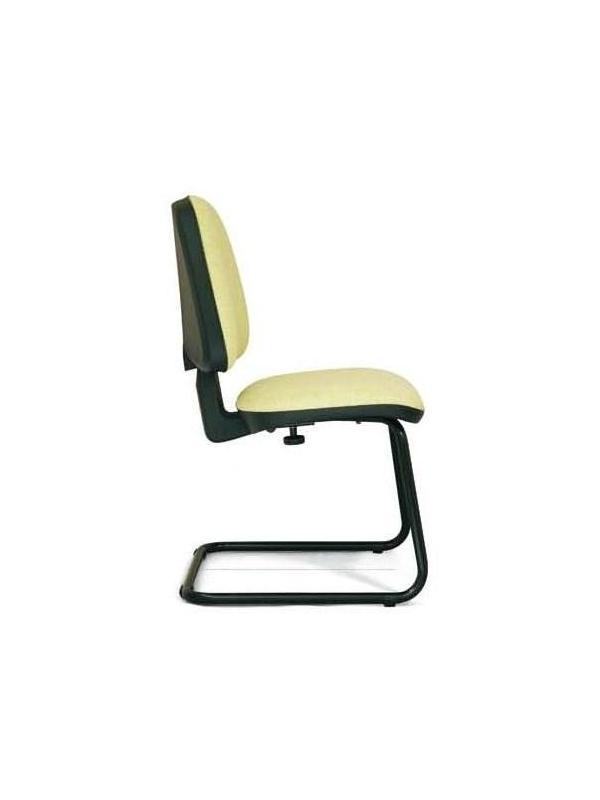Silla confidente - Silla confidente. Mecanismo contacto permanente. Regulación en altura del respaldo, y de profundidad del asiento, base en poliamida y brazos en poliuretano.