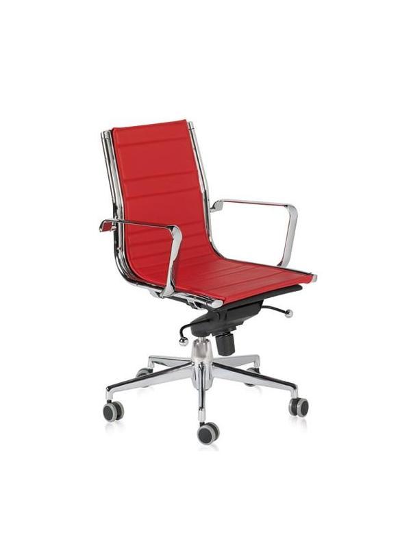 Silla de oficina - Silla de oficina Malla resistente Rueda de goma Mecanismo Basculante Avanzado