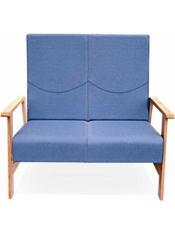 Sillón geriátrico - Sofá geriátrico Destaca por el volumen de su acolchado en asiento y respaldo. Perfecto para integrar en cualquier proyecto de zonas de relax, descanso y espera.  Respaldos y asientos individuales por plaza.