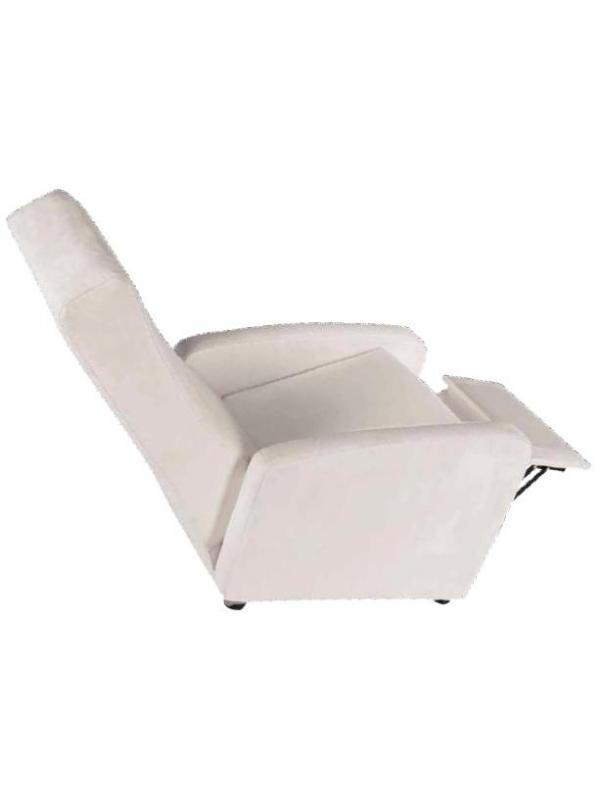 Sillón relax de geriátrico - Sillón relax de geriátrico Sillón reclinable mediante un suave mecanismo activado mediante presión por la espalda. Reposacabezas integrado en el respaldo para un mayor confort.