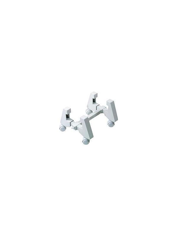 Soporte PC vertical - Soporte para CPU vertical con ruedas cuya aspiración es la comodidad del usuario y una máxima adaptación a diferentes espacios