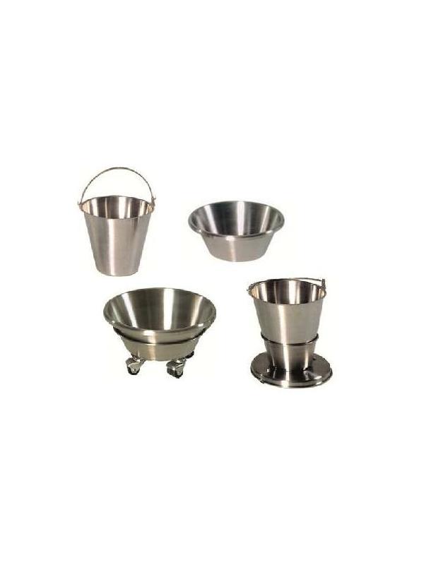 Soportes quirófano - Soportes rodados quirófano con gaveta Acero Inox.