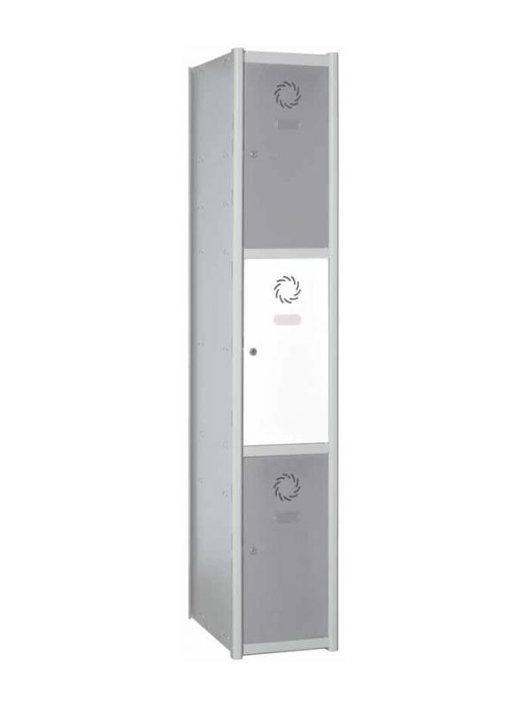 Taquilla modular - Taquilla modular 3 puertas.
