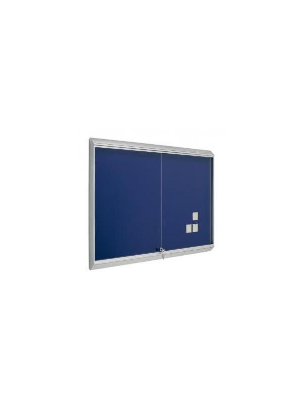 Vitrina con luz - tapizada - -Espacio interior 10 cm. -Cristal de metacrilato de 0,5 cm. de grosor. -Incluye cerradura y juego de llaves. -100 x 120 (foto y precio) -Disponible en:60x80 - 80x100 y 100 x150x175x200.