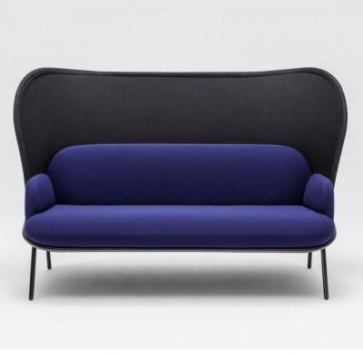 Sofa 2 plazas actual panel trasero - Nueva línea de sofás actuales, solicite información por mail o por teléfono. Gracias