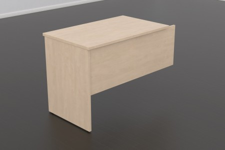 Ala auxiliar para mesa de oficina - Ala para mesa de oficina recta  -80/110 cm. de larga x 60 cm. de fondo x 74 de altura  -canteada en pvc anti-golpes