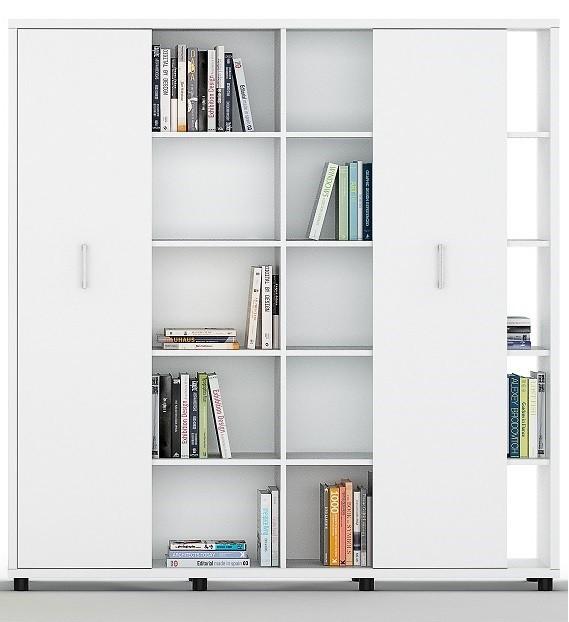 Armario librería alto con puertas correderas - Nueva serie ya a la venta mientras introducimos toda la información , puedes pedirnos informaron o comprarla por teléfono. Gracias.