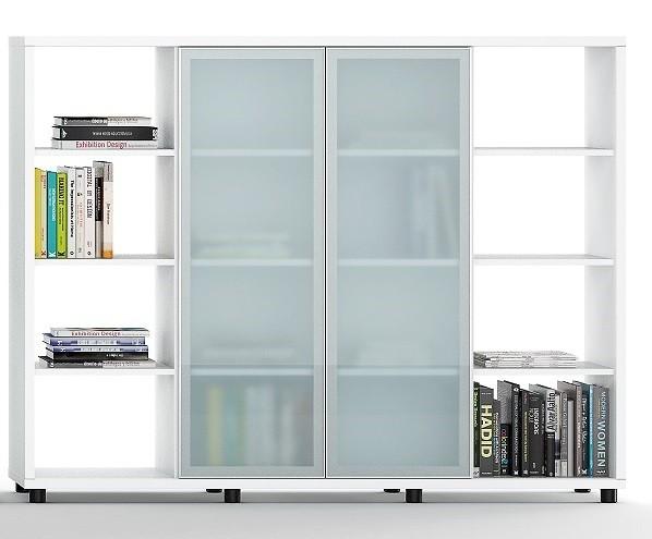 Armario librería alto con puertas correderas de cristal - Nueva serie ya a la venta mientras introducimos toda la información , puedes pedirnos informaron o comprarla por teléfono. Gracias.