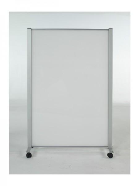 Biombos con ruedas - Biombo de con ruedas policarbonato  (transparente o blanco hielo), cristal transparente o metacrilato (transparente o blanco hielo), enmarcado en perfil de aluminio. Varios tamaños a escoger, que van desde los 80 cm de ancho hasta los 180 cm de alto. Posibilidad de añadir un extensiones para adaptarlo a tu espacio. . El soporte está formado por una pata de aluminio ( en