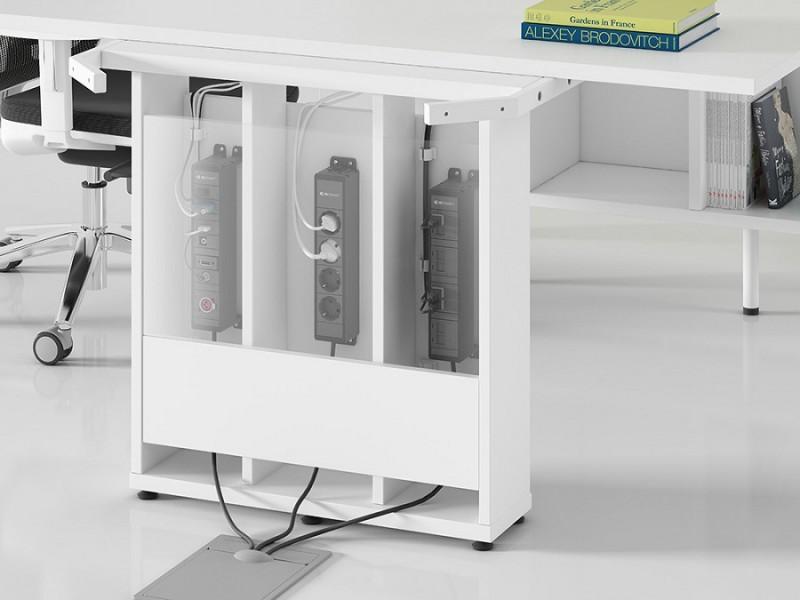 Detalle de la electrificación - Detalle de las amplias posibilidades que tenemos para electrificar esta serie.