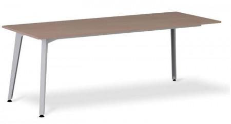 Mesa para acoplar muebles de auxiliar tipo ala - Mesa con sólo tres patas para incorporar el mueble auxiliar que hace las veces de ala, las mesas las tienes de de 200, 180,160 cm. siempre con un fondo de 80 cm.