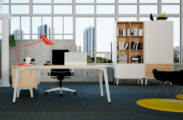 Despacho estilo nórdico - Estamos introduciendo esta nueva serie de mobiliario, los muebles ya están a la venta sólo falta que introduzcamos los detalles en la web, mientras terminamos puedes puedes pedir presupuestos e información por teléfono. Gracias
