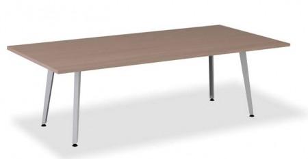 Mesas de reuniones - Aquí tienes las mesas de reunión de la serie nórdica, puedes poner los mismos colores de la melanina a juego con todas las mesas de oficina o con los armarios, en la mesa grande la tienes de 240 × 120 cm en las las mesas pequeñas tienes dos opciones bien cuadrada o bien redonda, la cuadrada la tienes de 120 × 120 cm y la redonda es de 120 cm de circunferencia.