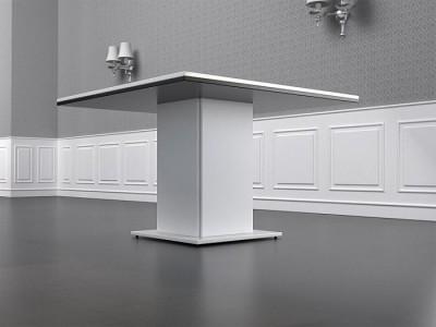 Mesa de reunión cuadrada pequeña - En las mesas de reunión también puedes elegir el color de los paneles y combinarlos como quieras, el tamaño estándar de la mesa en esta serie es de 120 x 120 cm. aunque podemos hacerlas especiales en el tamaño que quieras, aunque el mueble especial tarda más en entregarse.