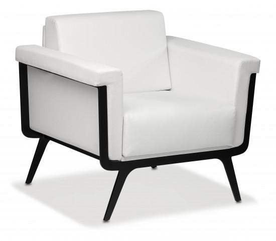 Sofá y sillón para recepción