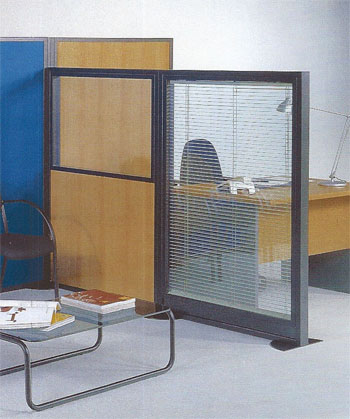 Biombos de separaci n biombos de oficina mamparas de for Separadores de oficina