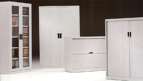 Armarios de puertas batientes | mobiliario metálico | mobiofic.com