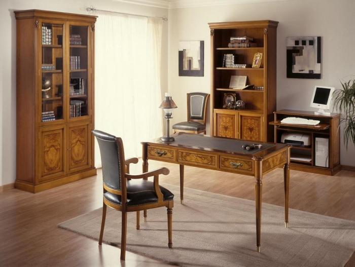 Muebles estilo clasico ingles mobiofic - Muebles despacho clasico ...