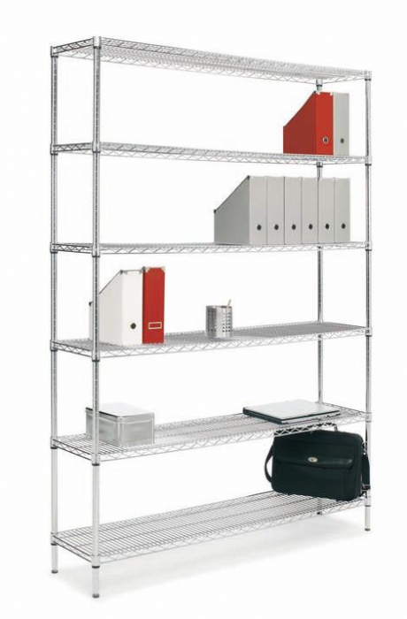 Estanter a met lica accesorios de oficina mobiliario de - Estanteria de aluminio ...