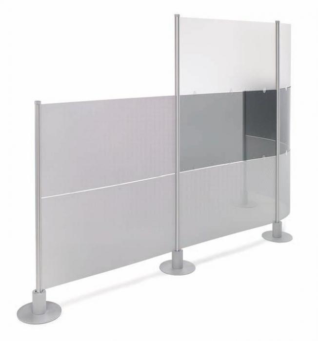 Mampara modular muebles de oficina sillas de oficina for Sillas metacrilato ikea