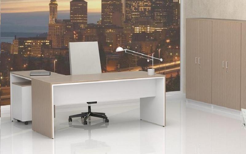 Mobiliario de oficina de dise o moderno mobiofic - Decoracion de despachos en casa ...