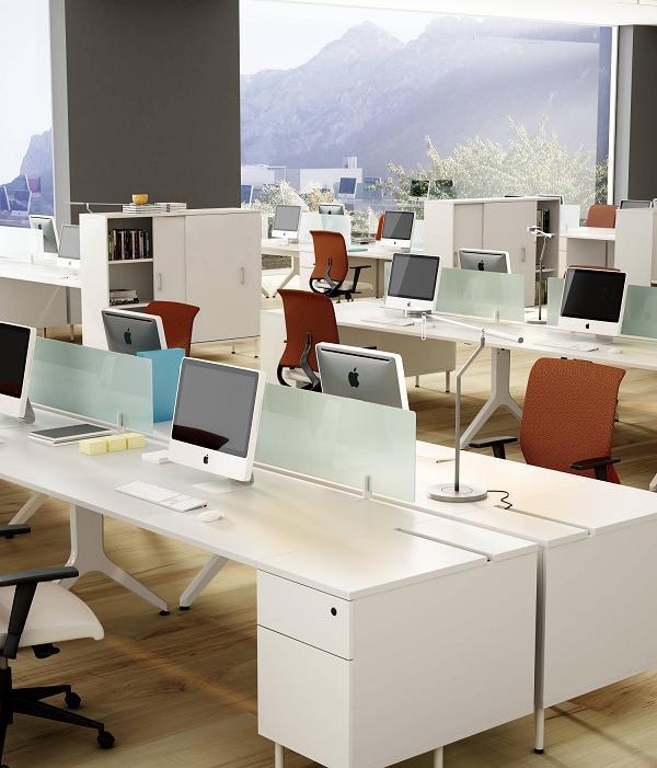Mobiliario de oficina serie barcelona for Oficina informacion