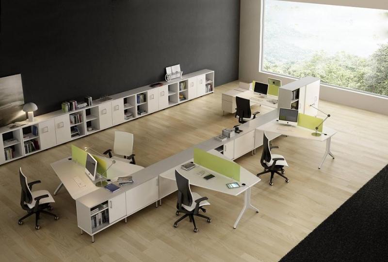 Mobiliario de oficina serie barcelona for Oficina virtual de distribucion