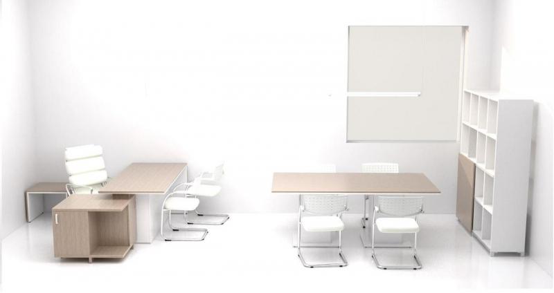 Mobiliario de oficina de dise o moderno mobiofic for Mobiliario de oficina minimalista