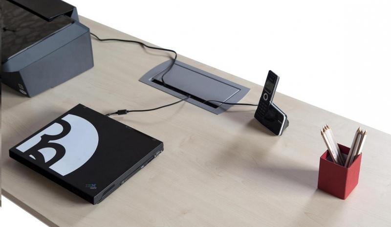 Detalle del pasacables (opcional) | Muebles de oficina - sillas de ...