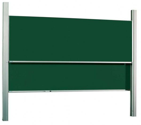 Pizarras de guillotina mobiliario escolar for Pizarra oficina